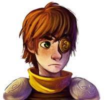 Hiccup - Battle Scars by Stalcry