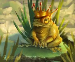 Pond King by ArtKitt-Creations