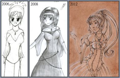 Evolution by Lexou-chan