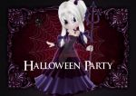 Devil Cookie Girl Halloween Party Invite 7 by RedHeadFalcon