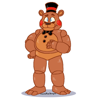 .:Toy Freddy:. by CoksTheDragon