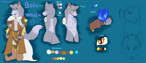 Bola Whica (Old Reference Sheet) by FanDragonBrigitha