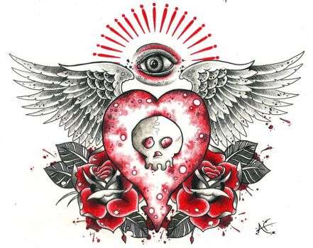 Alkaline Trio Design by Frosttattoo