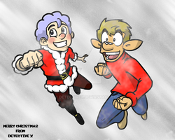 Merry Christmas 2011 by DetectiveX