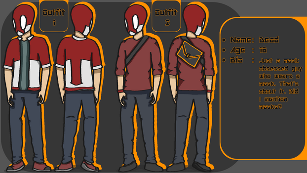 Dead Redesign Reference by SketchingGames