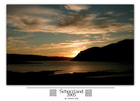 Schottland 05 - Sunset by MrsMorzarella