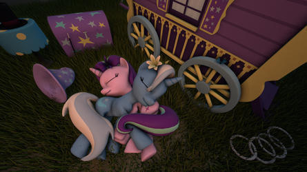 Great and Powerful Snuggles by fedairkid