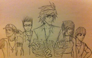 Saints Row 2- the comic by JAWjakerssure