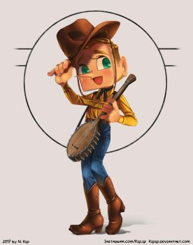 Odd Numbers: Western by Kipip
