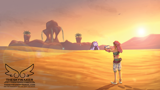 Gerudo Town (3 5 2018) by theskywaker