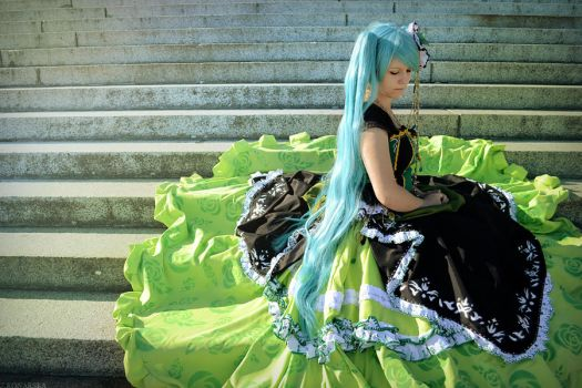 Vocaloid: Melancholy by wtfproductionsskits