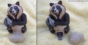 Tanuki Flash Drive by WickedSairah