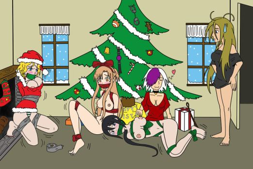 Merry Christmas! feat Kaatryn (Colored) by PomeGrenade113