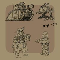 40k...ala Metal Slug by grimdork
