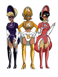 Diapered Villainesses By Pikatrooper123 by megabluex
