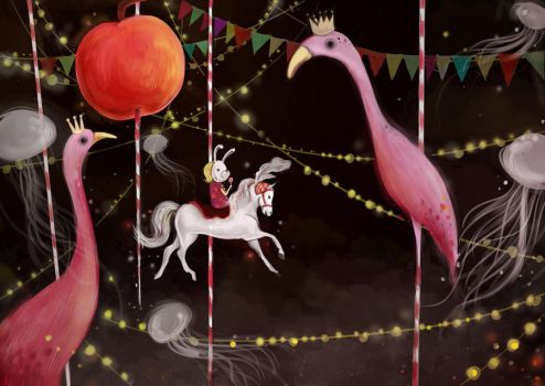 Merry-go-round by meiw