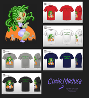 Cute Monster Contest Entry: Cutie Medusa by Colanah