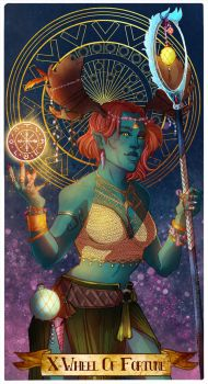 Commission - Wheel of fortune by Ioana-Muresan