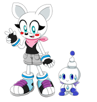 RQ - Starkle and Chaonillite Sonic X Artwork by Aquamimi123