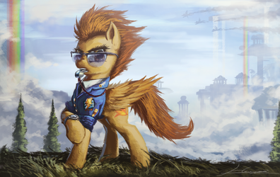 Spitfire by Huussii