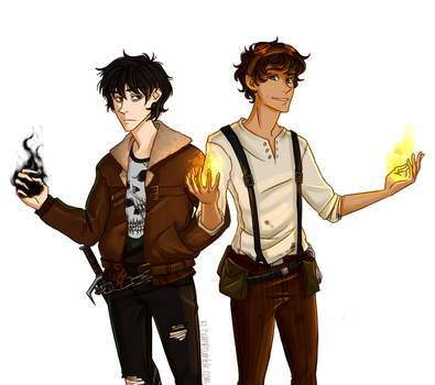 Leo and Nico by Riding-Lights