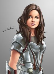 Lady Sif by HouEvil