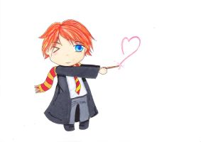 Request: Chibi Ron by TheMangaWitch