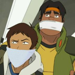 Hunk and Lance Gagged  (Manip) by BoundHarvester