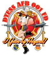 Dyess AFB FD Pin-Up by yankeedog