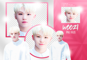 PNG PACK: Woozi #1 by Hallyumi