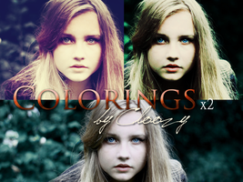 Colorings Pack by Cloozy
