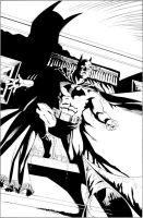 Batman Confidential inks by stevescott