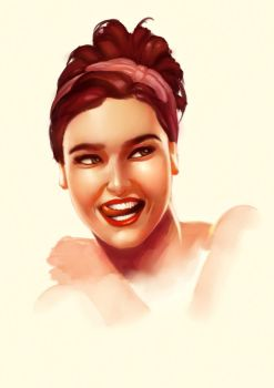 Pin-up Portrait by Eriyal