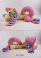 Floppy Crystal Fluttershy by SailorMiniMuffin