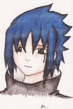All i can do, is cry... by The-Sasuke-Club