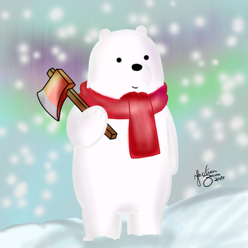 Ice Bear looks for a Perfect Tree (We Bare Bears) by JacksonZaccaBR