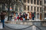 happy tourists - Geneva by Rikitza