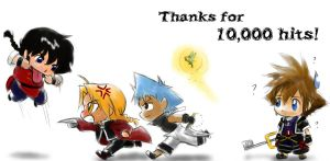 Thanks for 10000 by kra