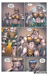It's All FMG and Games Until Someone Loses a Shirt by muscle-fan-comics