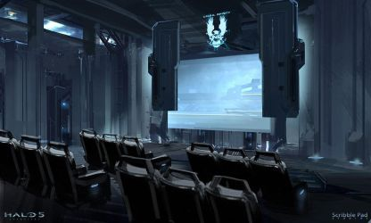 Halo HoloLens E3 Experience - Screening Room Conce by JamesPaick