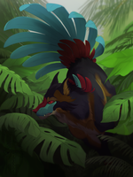 Jungle King by JACARIUS