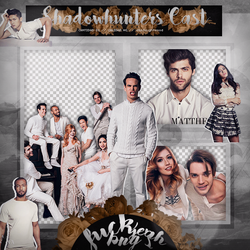 Pack Png: Shadowhunters Cast #280 by MockingjayResources