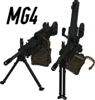 MG4 - Rigged (Updated) by ProgammerNetwork