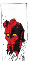 I'ts Hellboy again by jacksony22