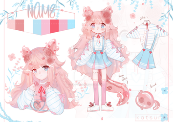 Auction adoptable  [CLOSED] by k-a-t-s-u-n-e