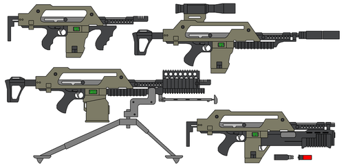 M41 Pulse Rifle by omegafactor90