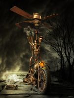 Steam Punk Bike by salis2006