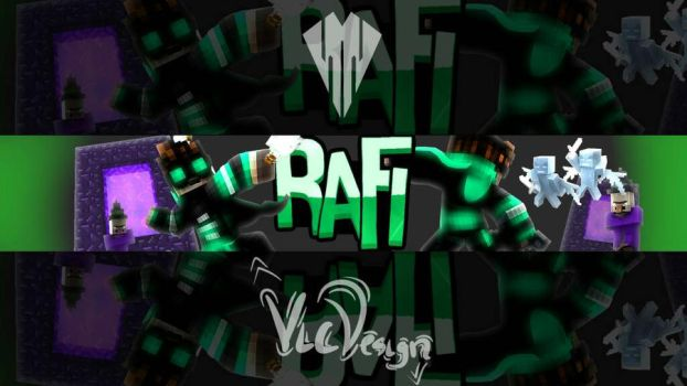 BANNER MC FOR RAFI by chiefvicdesign