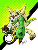 Chesnaught by wheretheresawil