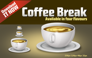 CoffeeBreak Icon by uberdiablo-pixels